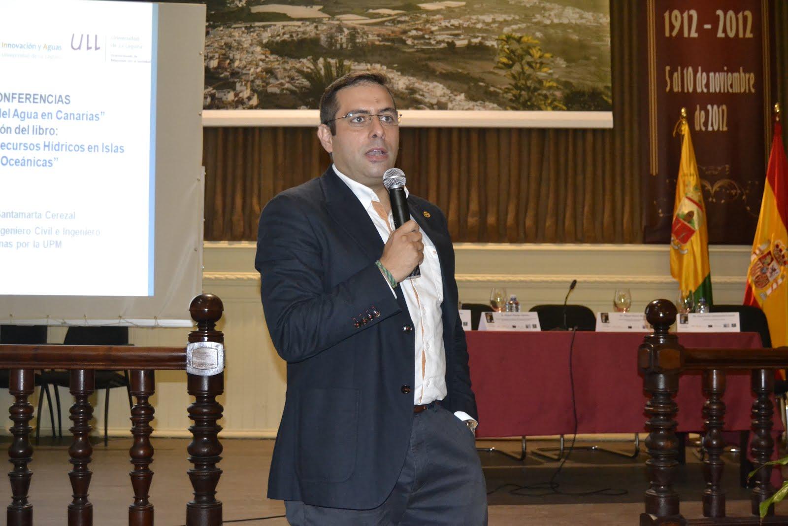 Conferencia Dr. Juan Carlos Santamaría Cerezal