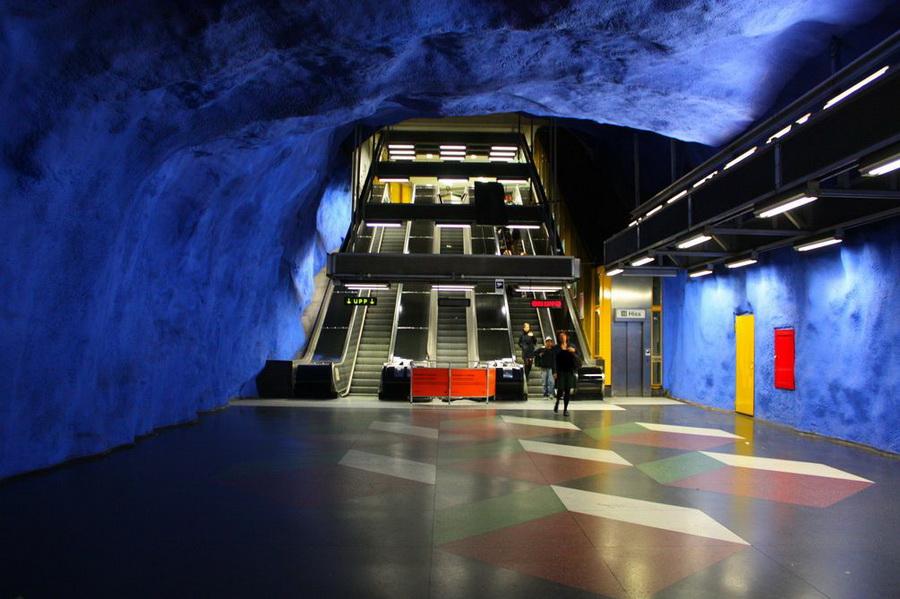 My album the beauty of stockholm metro subway in sweden - Metro de estocolmo ...