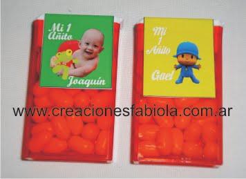 Pastillas personalizadas con sapo pepe; pocoyo;etc
