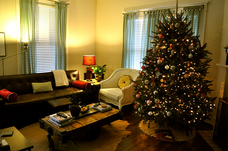 Christmas Tree Living Room bonte rue: o christmas tree, o christmas tree