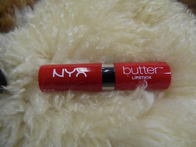 butter lipstick nyx
