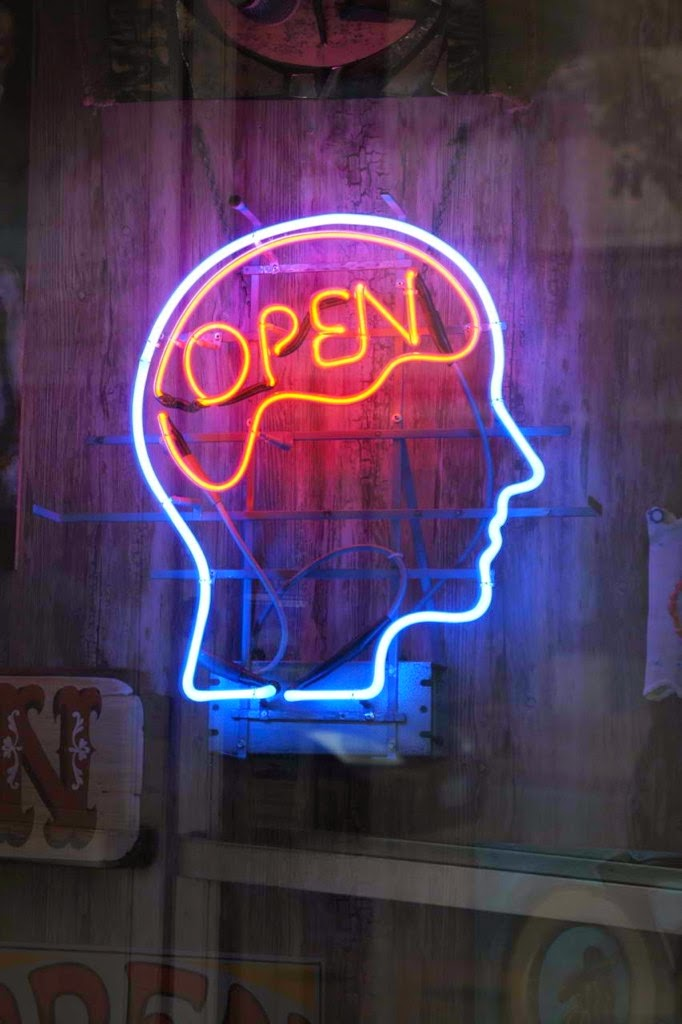Become more open minded