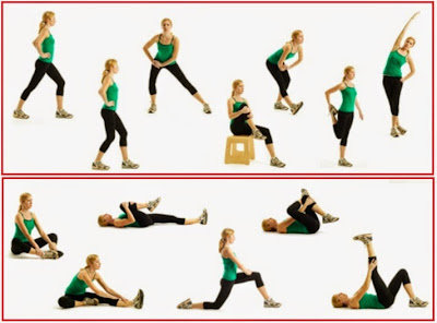 The best 9 stretching to be in the form Improve the health of the joints Reduce contractures pains postulares best stretching exercises Prevent aging