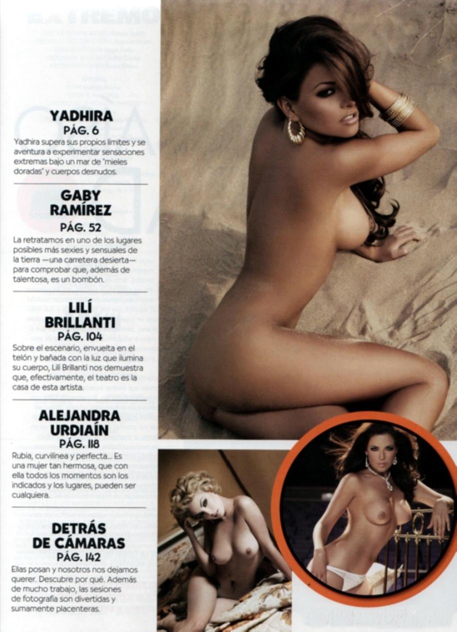 Porno Meicano Gaby Ram Rez Pletamente Desnuda Revista Etremo