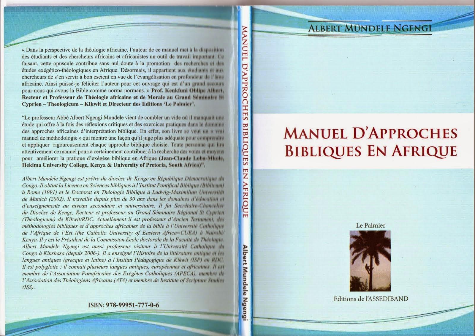 Manuel d´Approches Bibliques en Afrique