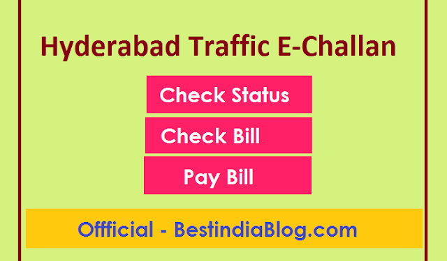 hyd traffic police e-challan pay online