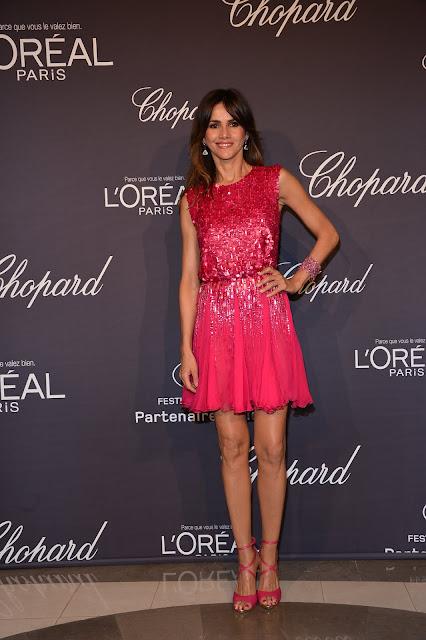 Goya Toledo en el Festival de Cannes