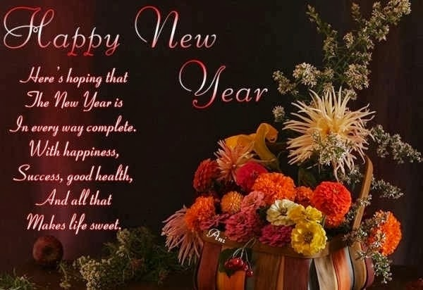 New Year Calendar Quotes : Happy new year wishes quotes beautiful