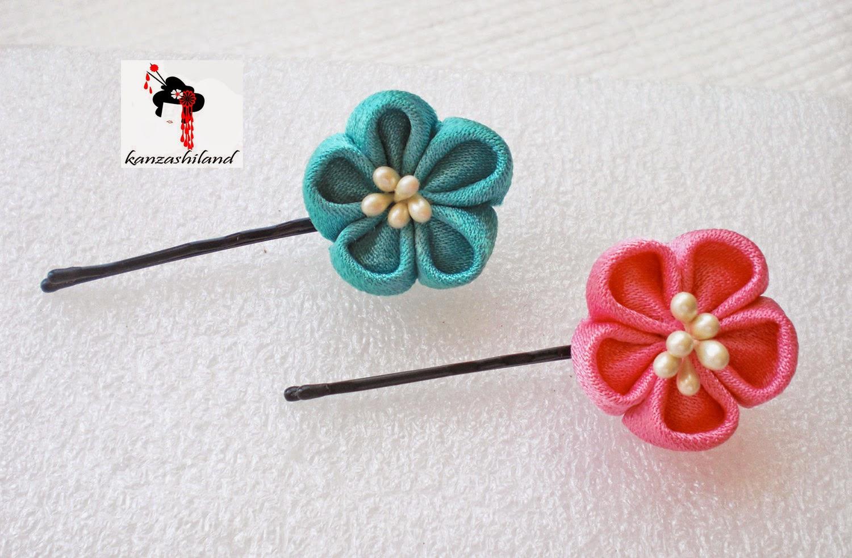 flores kanzashi de kanzashiland