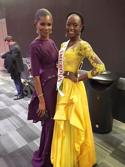 Larissa Ngangoum - Miss Cameroun 2014 at Miss World