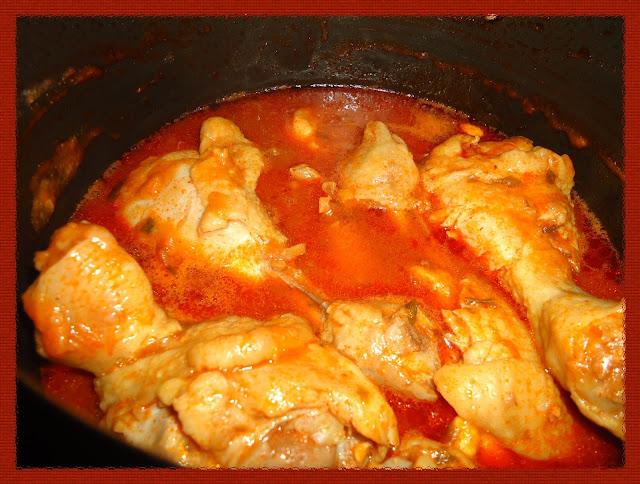 Receita caseira de ensopado de coxa de frango