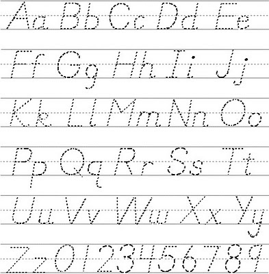 Basic Design Graffiti Alphabet Letters A-Z with Number
