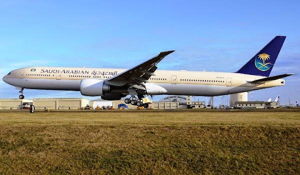 Saudi Arabian Airlines. ZonaAero