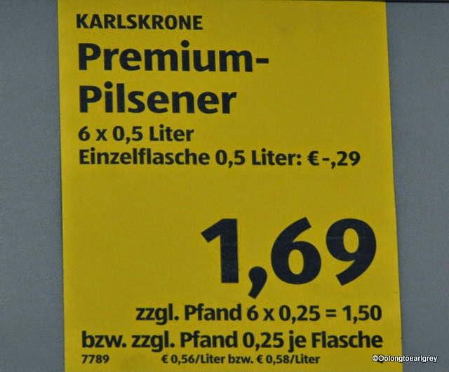 Karlskrone Beer Frankfurt Pfand