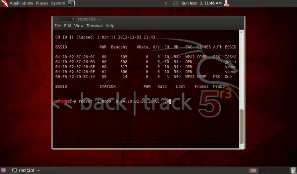 backtrack wifi crack wpa