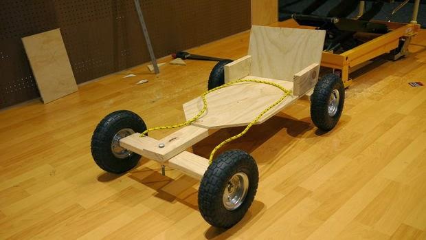 Como construir un carro montable de madera ingeniando - Construir en madera ...