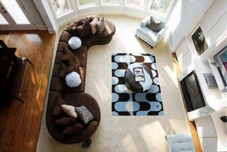 Blue And Brown Living Room Decorating Ideas Living Room Decorating