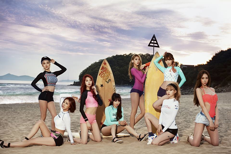 Nine Muses Korean Girl Group