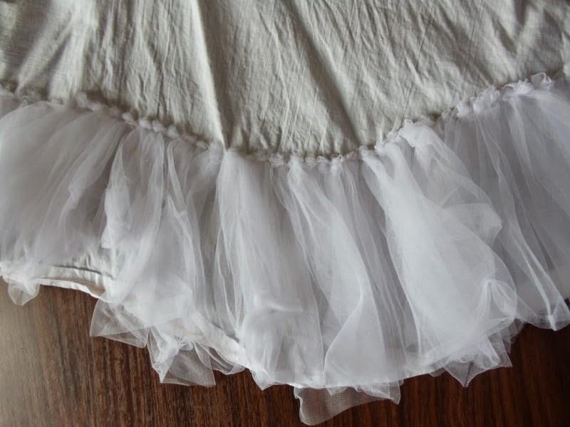 Сшить подъюбник для пышного платья