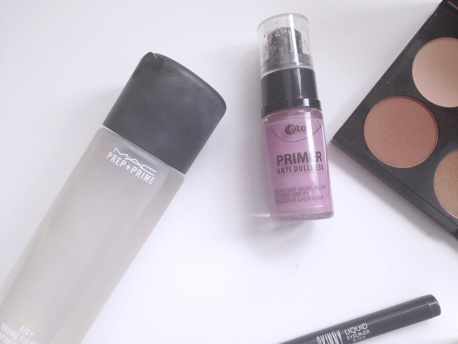 MAC Prep Prime Fix  ETOS Brightening Primer #7B5650