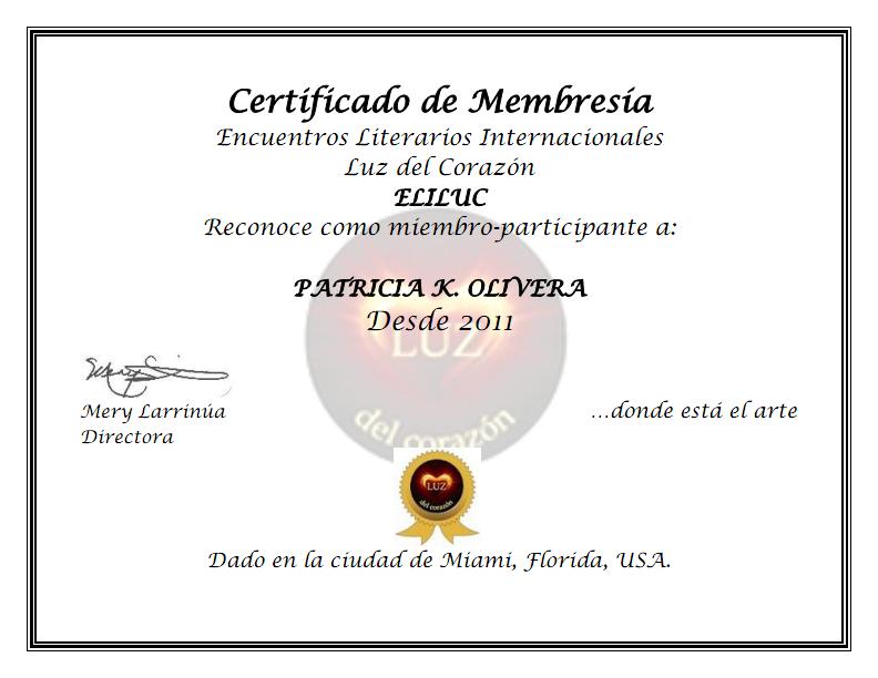 Membresía ELILUC
