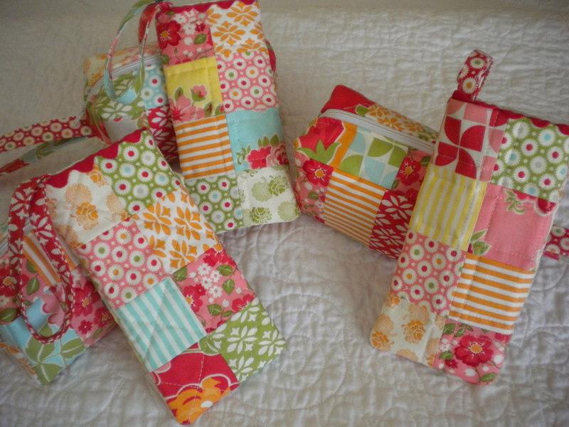 Hello Summer   A Quilting Life - a quilt blog : quilted eyeglass case pattern - Adamdwight.com