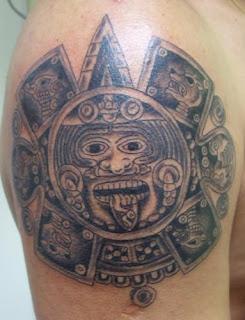 Fotos de Tatuagens Maias