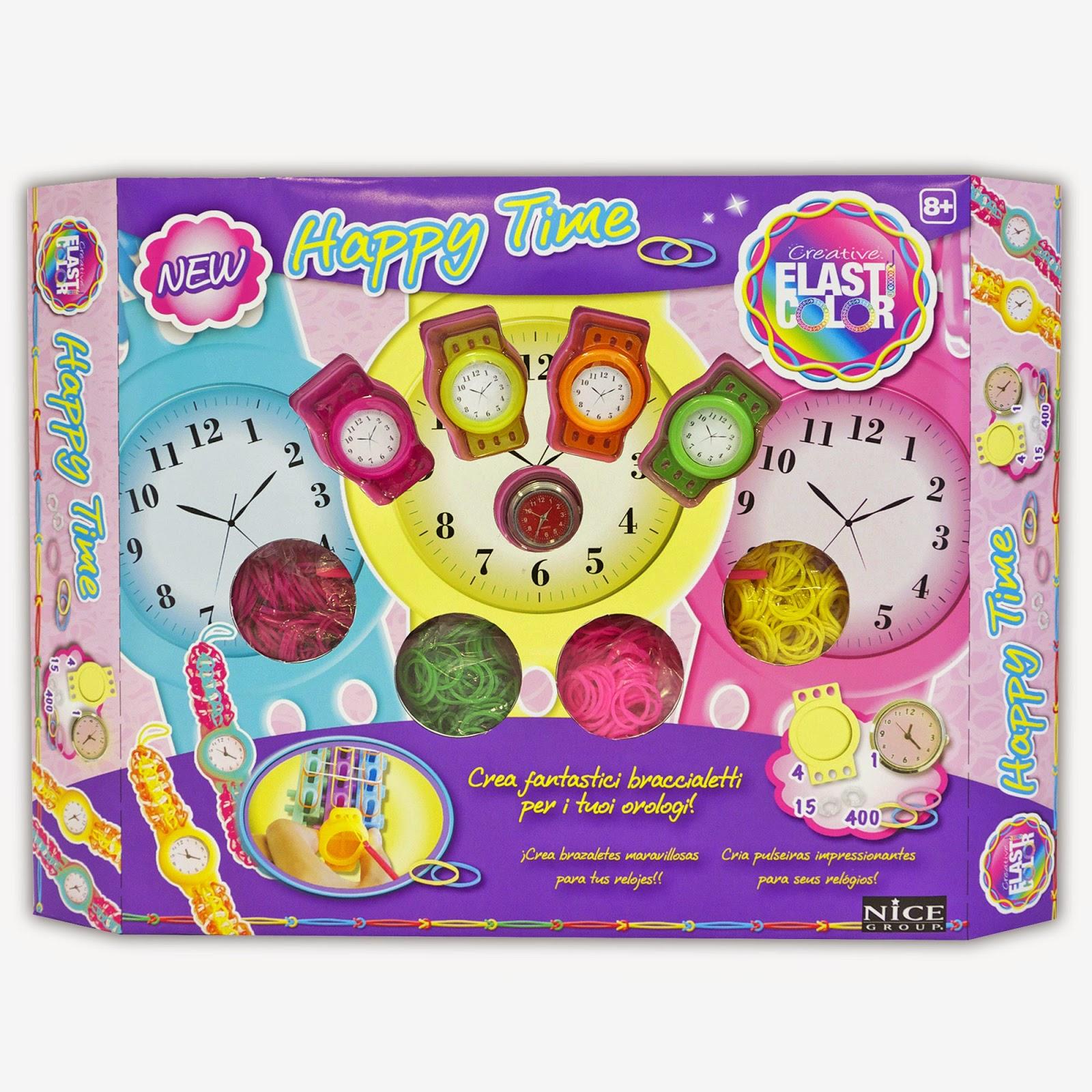 Elasticolor HappyTime il nuovo kit con orologio incluso Novità per il Natale 2014