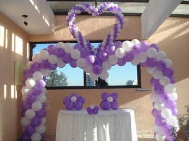 Decoraciones con globos decoraciones para todo tipo de for Decoracion para 15 anos sencilla