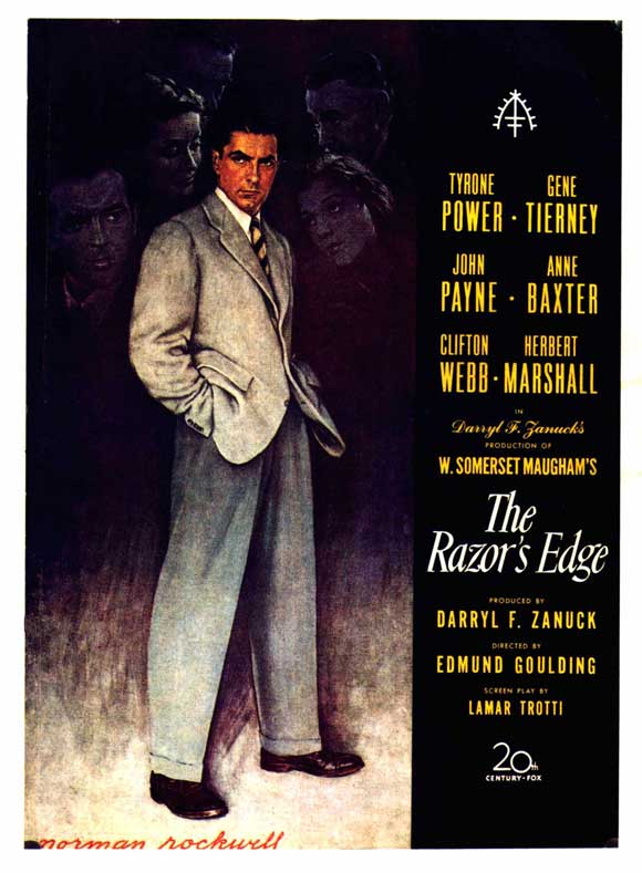 """Let's Not Talk About Movies"": The Razor's Edge (1946)"