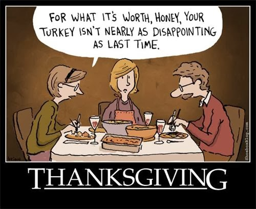 Top Funny Thanksgiving Quotes
