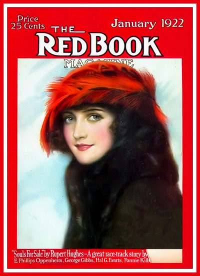 Book Cover Series January : Vintage the red book magazine