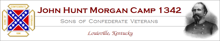 John Hunt Morgan Camp 1342: Sons of Confederate Veterans - Louisville, KY