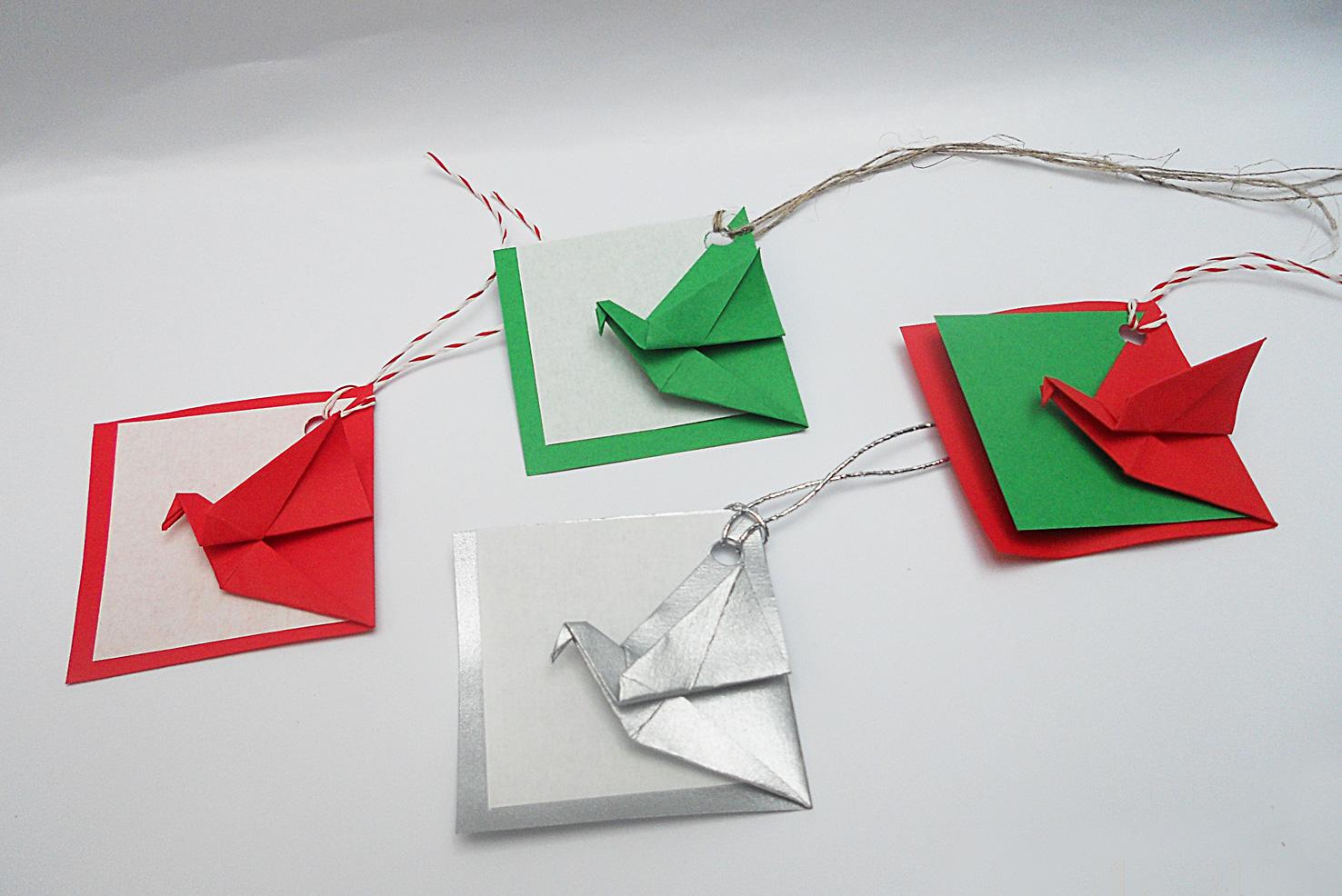 mas origami buenos deseos On origami para navidad