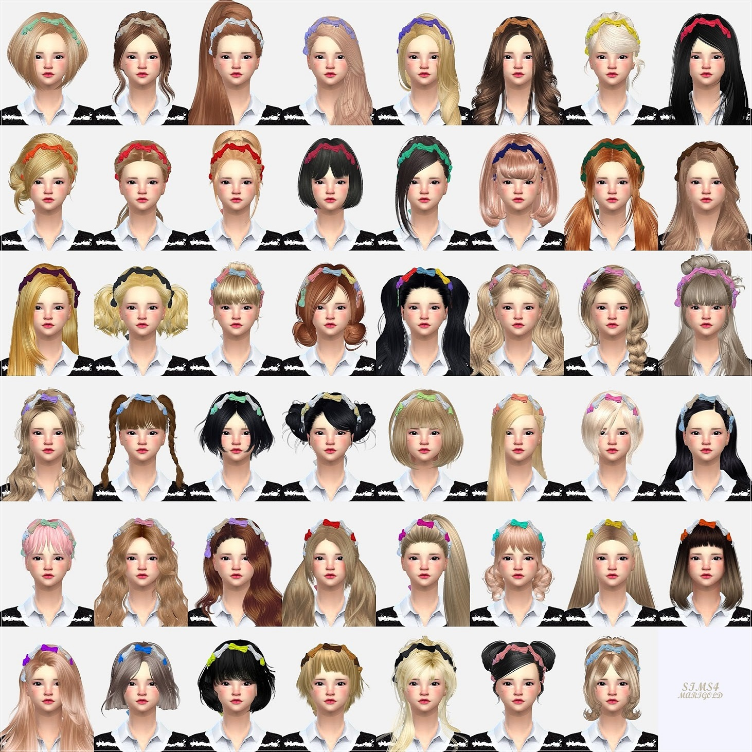 The sims 4 hair accessories - Labels Accessories All Accessories Hair Accessories Masks