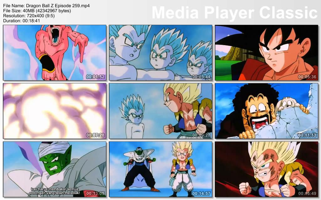 Download Film / Anime Dragon Ball Z Majin Buu Saga Episode 259 Bahasa