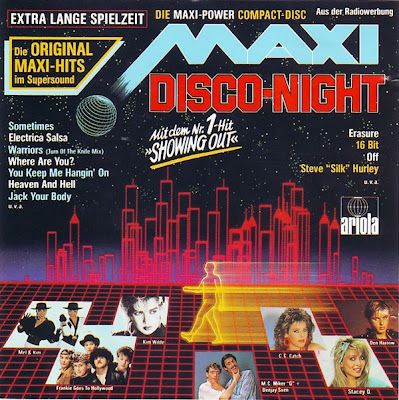 MAXI DISCO NIGHT  (Various Artists) Original Maxi Versions PWL 80's Eurobeat Hi-NRG Dance 1987