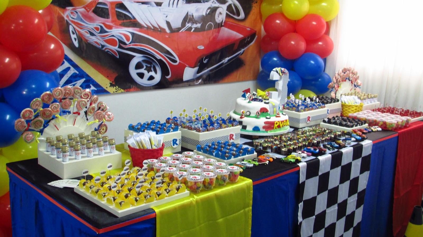 decoracao festa hot wheels ? Doitri.com