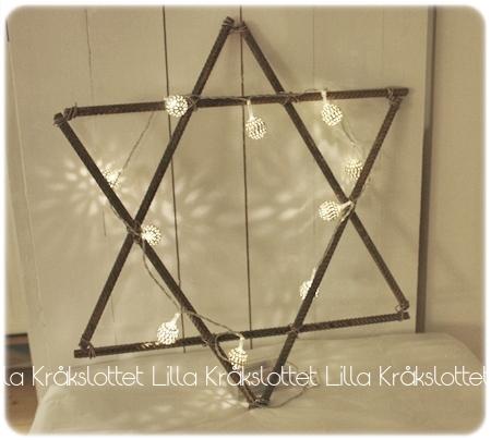 Julstjärna stjärna jul armering