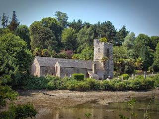 Church at St Just-in-Roseland, Cornwall