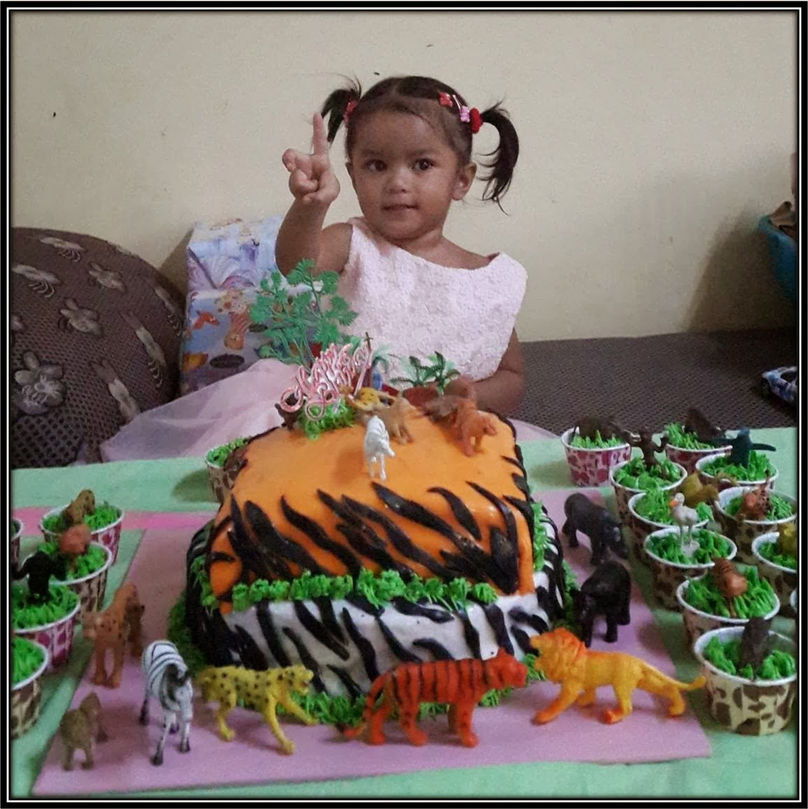 Ufairah 2 years old Birthday Party
