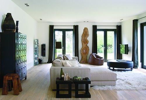 www.potzwonen.nl Sfeervolle woonkamer Piet Boon stijl | architectuur ...