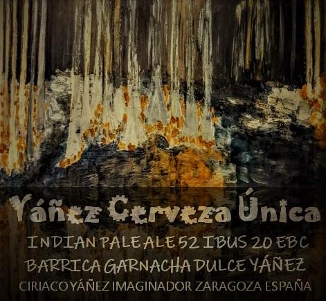 CERVEZA YAÑEZ imaginada al alimón con Ordio Minero,espíritus afines creando nueva original cerveza