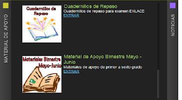 MESA TECNICA. MATERIALES DE APOYO POR BIMESTRES