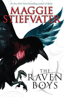 Book cove of The Raven Boys by Maggie Stiefvater