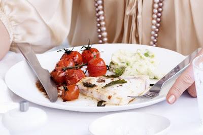 Swordfish in sage olive oil Recipe