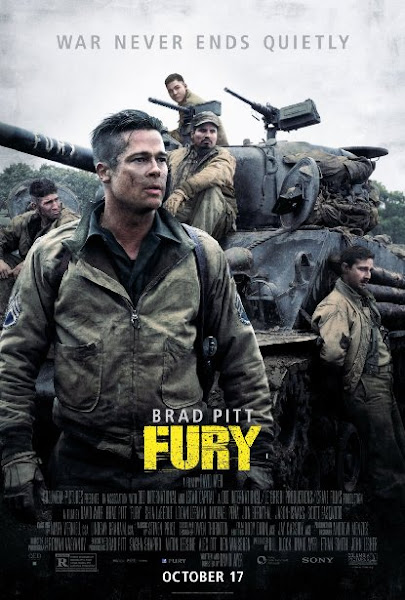 Poster of Fury 2014 720p BluRay Dual Audio