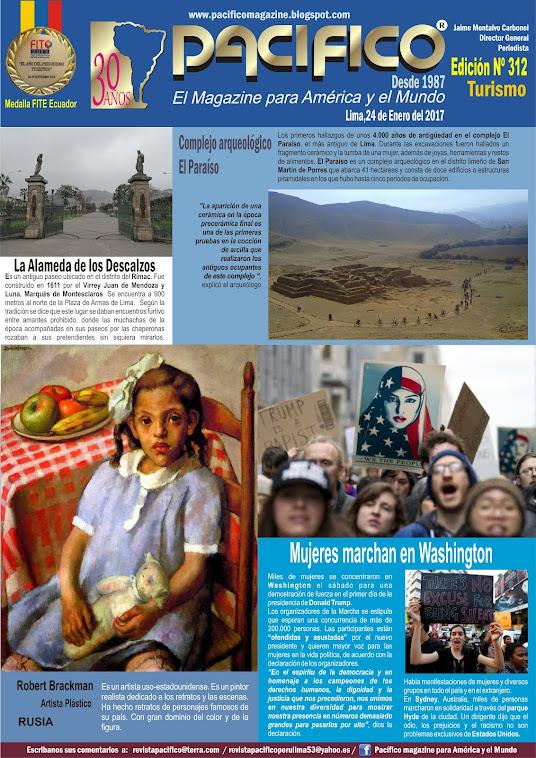 Revista Pacífico Nº 312 Turismo