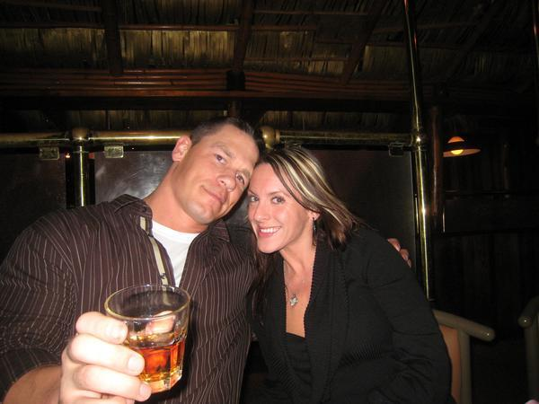 John Cena and his Wife