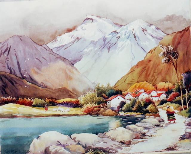 paisajes-peruanos-acuarelas